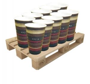 """Пакет Стаканчики бумажные """"Benders"""" (Великобритания), 250 мл 1000 шт - 30 коробок"""